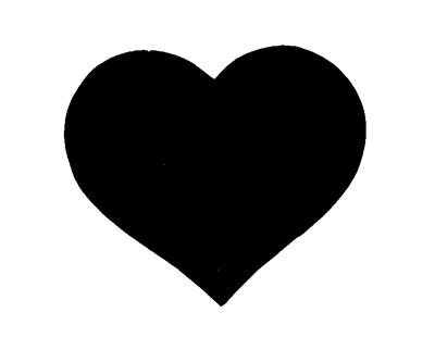 heart plain cutout rh creationsbydedra com plain heart ring plain heart shape